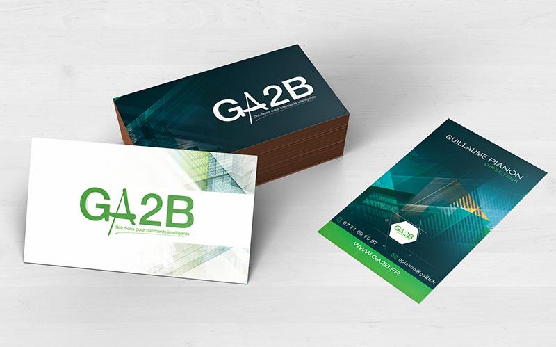 Creation Et Impression Des Cartes De Visites Pour Les Membres Du Cluster Ga2b